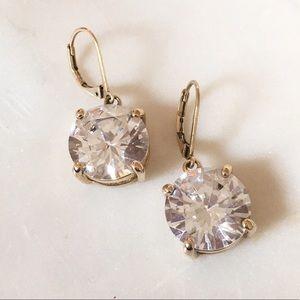 Betsey Johnson Gold Cocktail Earrings